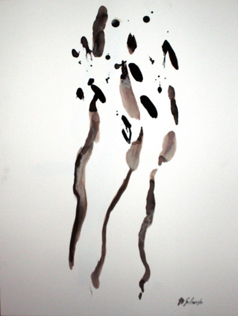 2010: Calligraphie 60 x 45 cm on paper