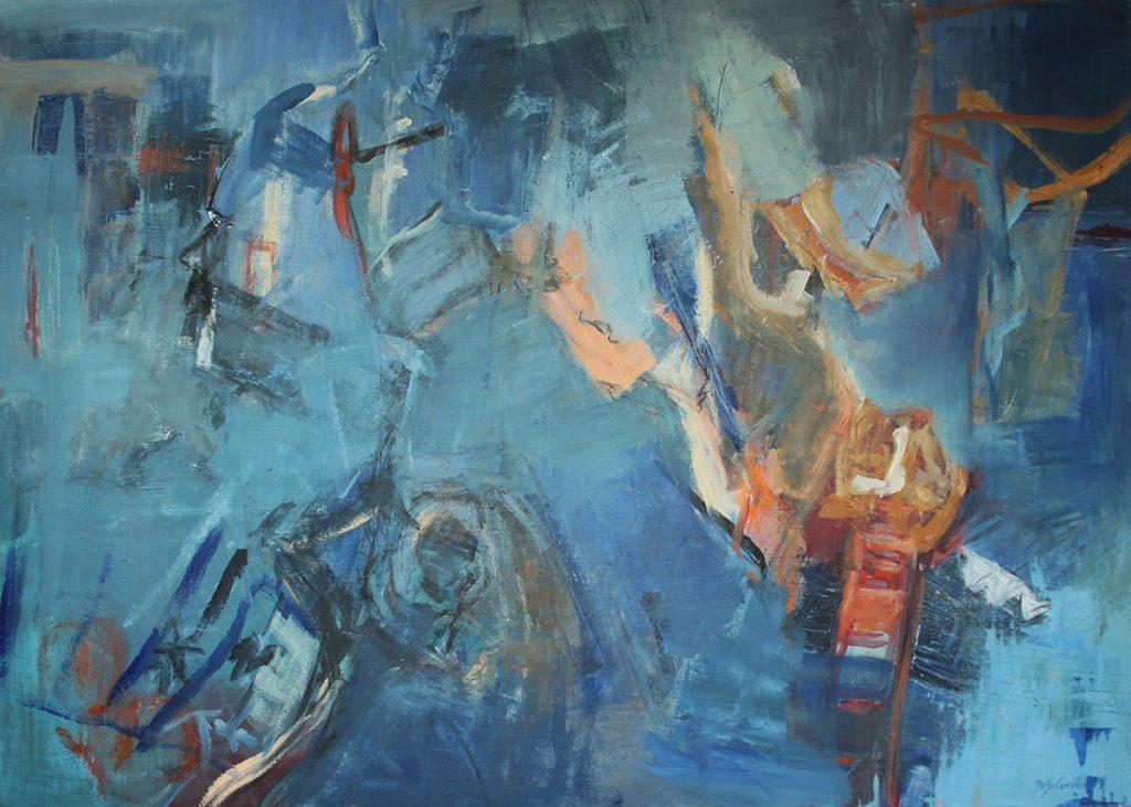2007: Traces de Vie, 1,00 x 1,40, Acryl sur toile